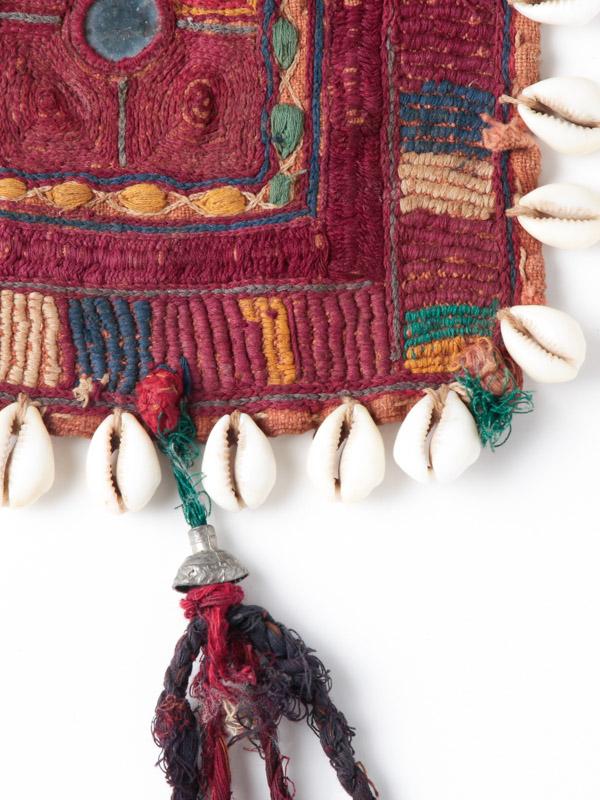 バンジャラ族 古布(飾り紐つき)