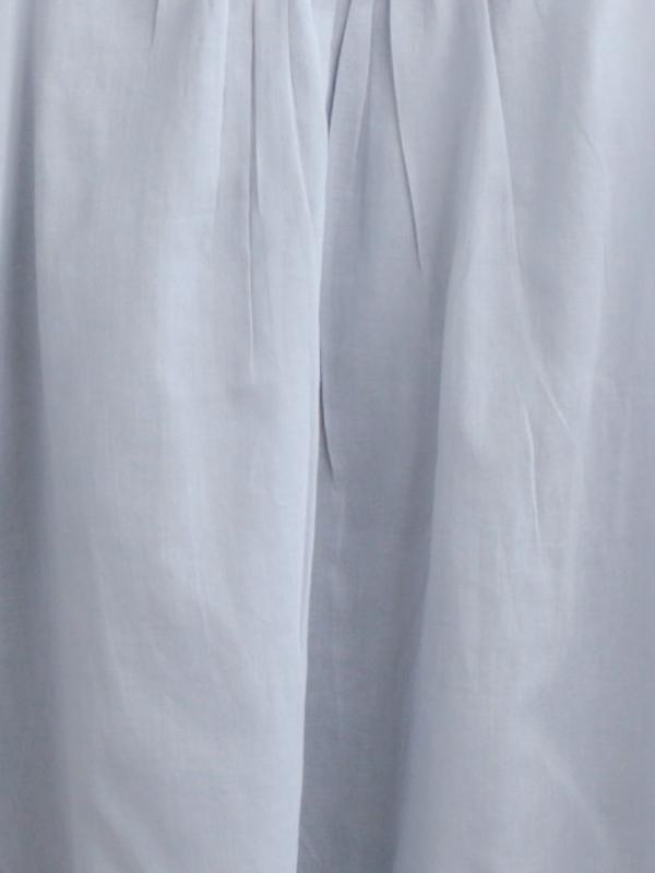 【インナー3点以上で送料無料】インド綿 インナーミドルキャミソール