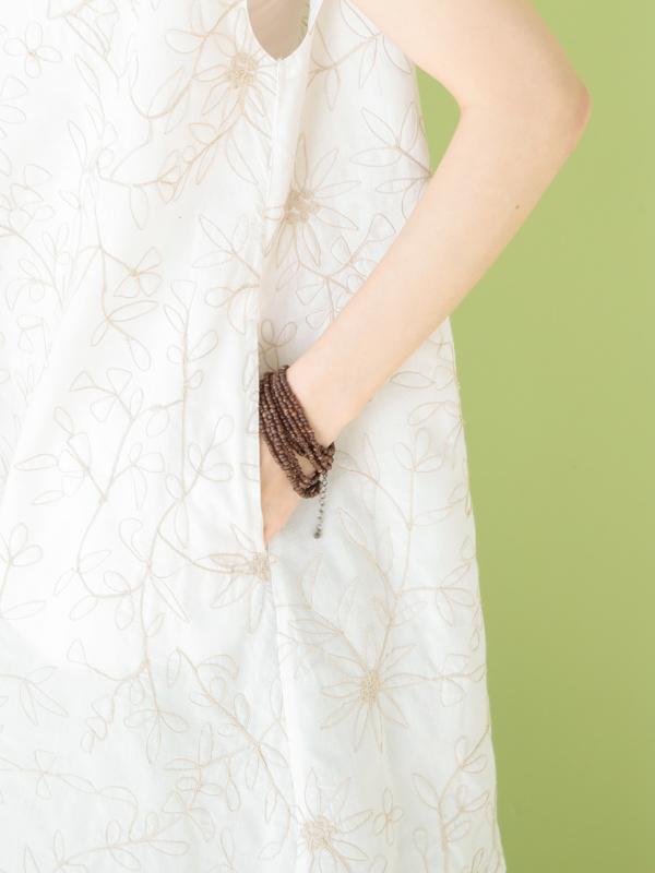 ドリーフラワー刺繍 チュニック 21S065