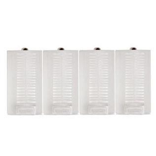 単3電池を単1電池に変換!<BR>単1形スペーサー4個セット[単三電池1〜2個入れ対応タイプ]<BR>宅配便送料無料