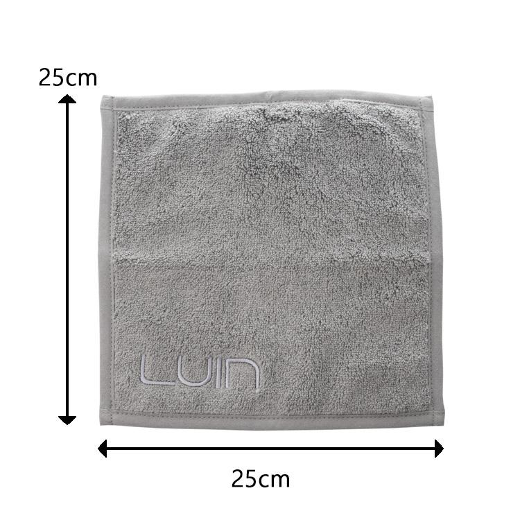 北欧雑貨 ルインリビング スパタオル 25×25cm ハンドタオル