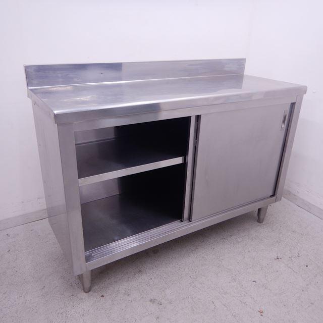 調理台 中古 W1200×D450×H800(+90) バックガードあり