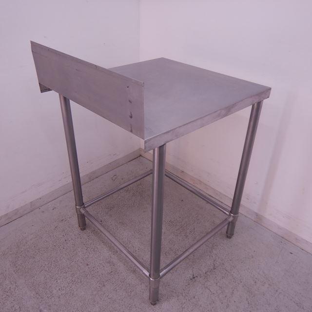【値下げ】作業台 中古 W600×D650×H800(+150) バックガードあり