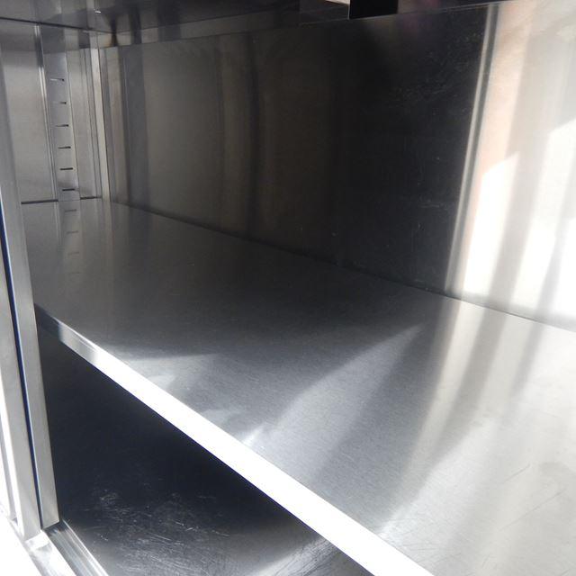 キタザワ 調理台 中古 W1500×D600×H800 バックガードなし
