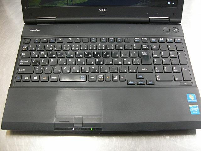 【中古】NEC VersaPro VK20E/X (Cel 2950M/4GB/500GB/DVD-SM/15.6inch HD/無線LAN/Win10 Pro))