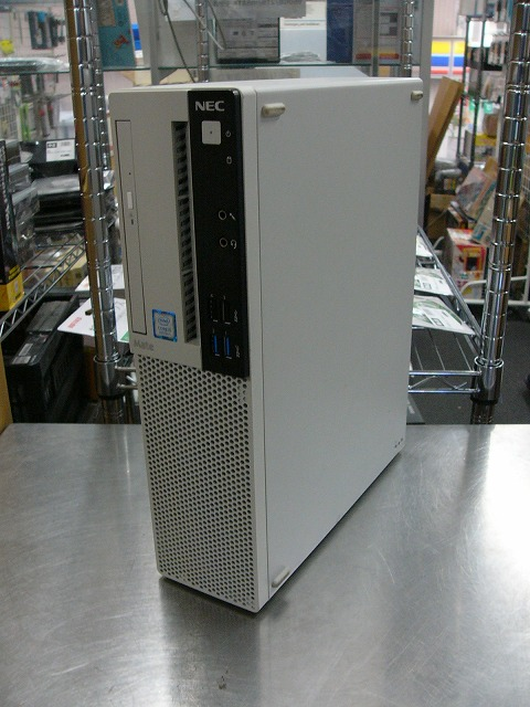 【中古】NEC Mate MUM28/L-4 (Core i5 8400/8GB/1TB SSD/DVD-SM/Win10 Pro)