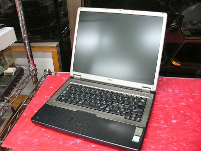 【ジャンク】NEC VersaPro VY13M/EF-U (CelM 350J/768MB/40GB/COMBO/15inch XGA/WinXP Home)