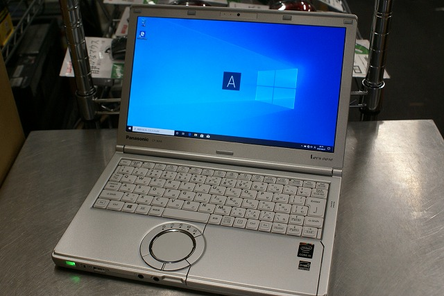 【中古】Panasonic Let's note CF-NX4HDNCS (i5 5200U/4GB/256GB SSD/12.1inch HD+/無線LAN/Win10 Pro)