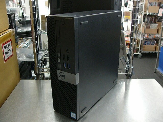 【中古】Dell OPTIPLEX 5040 (i5 6500/8GB/256GB SSD/DVD-SM/Win10 Pro)