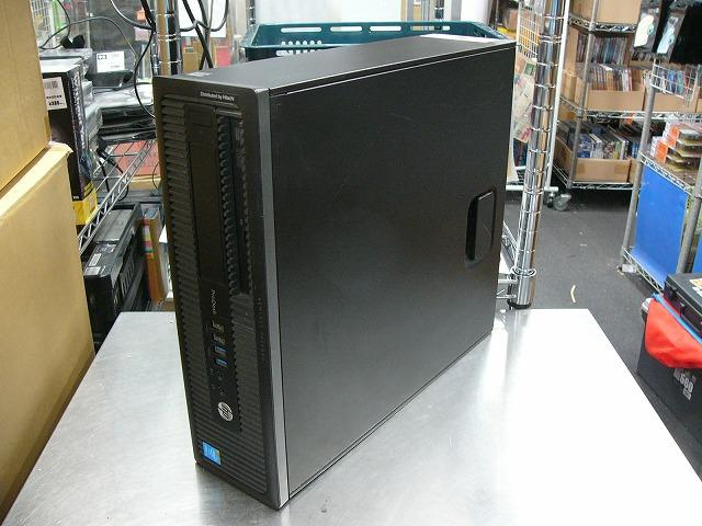【中古】hp ProDesk 600 G1 SFF (i3 4130/4GB/240GB SSD/DVD-ROM/Win10 Pro)