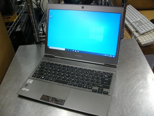 【中古】東芝 dynabook R632/G (i5 3427U/4GB/256GB SSD/13.3inch HD/Win10 Pro)