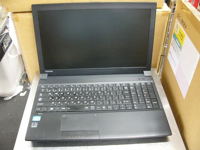 【中古】dynabook Satellite B553/J (i3 3120M/4GB/320GB/DVD-SM/無線LAN/15.6inch HD/Win10 Pro)