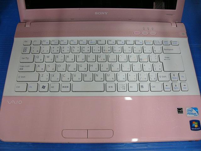 【中古】SONY VAIO VPCEA45FJ/PI (Pen P6200/4GB/500GB/DVD-SM/14inch HD/無線LAN/Win10 Home)