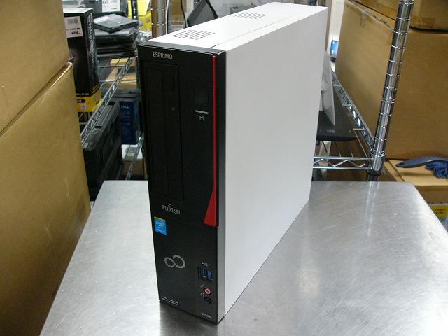 【中古】富士通 FMV ESPRIMO D552/K (i3 4160/4GB/1TB/DVD-ROM/Win10 Pro)