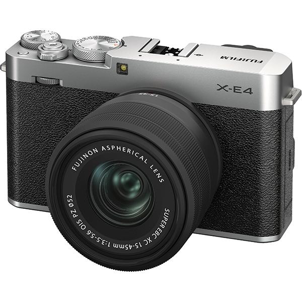 富士フイルム FUJIFILM  X-E4-S ミラーレス一眼カメラ XC15-45mmレンズキット シルバー [ズームレンズ]