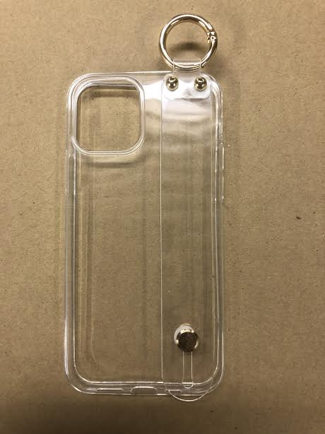 zvpa 1695kn05 【iPhone12 iPhone12Pro クリア】iPhoneケース iPhoneカバー ベルト付き