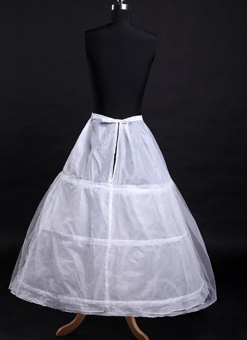 zgyx 011 【013-2花嫁ドレス 定番】3段フリル ボリューム パニエ ハードチュール1枚を重ね 裏地付き ふわふわパニエ カラースカート レディース