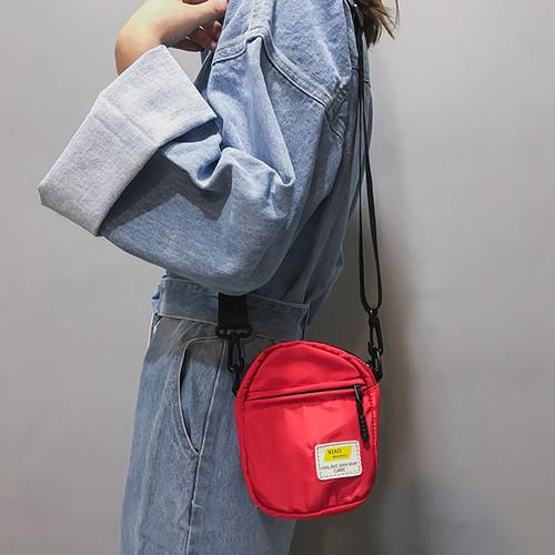zxha 053kn10 ショルダーバッグ レディース 【赤】 斜め掛け ミニ カジュアル 小さめ かわいい 軽量 シンプル お洒落 お財布