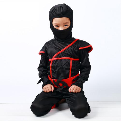zgyx 023 【L】073b子供 忍者 コスプレ ハロウィン 仮装 キッズ 男の子 女の子 パーティー ステージ衣装