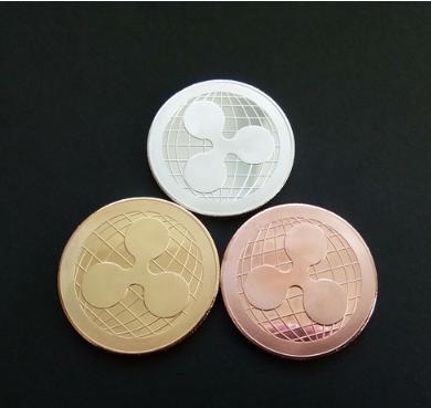ngab 732kn05 ripple コイン シルバー 金運! 仮想通貨 リップル