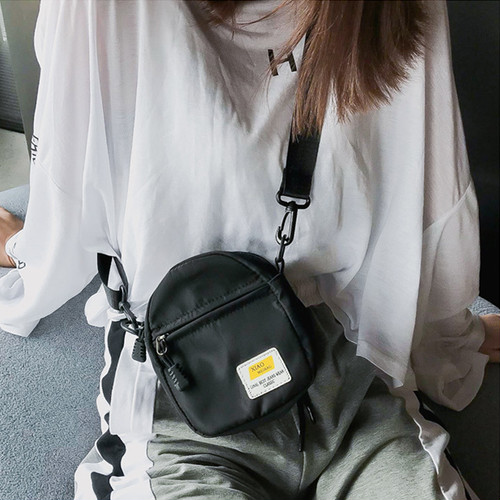 zxha 055kn10 ショルダーバッグ レディース 【黒】 斜め掛け ミニ カジュアル 小さめ かわいい 軽量 シンプル お洒落 お財布