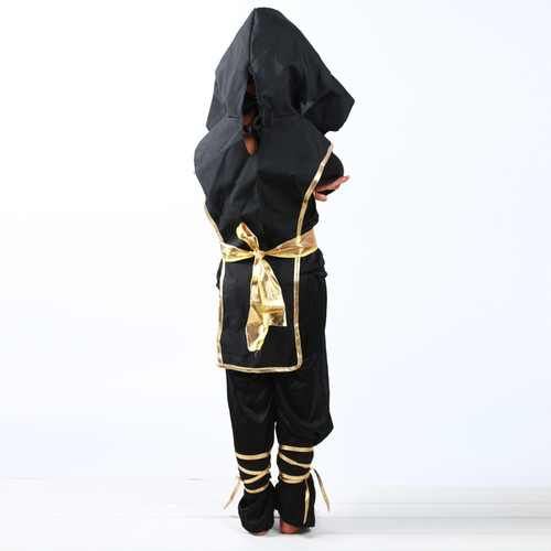 zgyx 090 【L】073a子供 忍者 コスプレ ハロウィン 仮装 キッズ 男の子 女の子 パーティー ステージ衣装