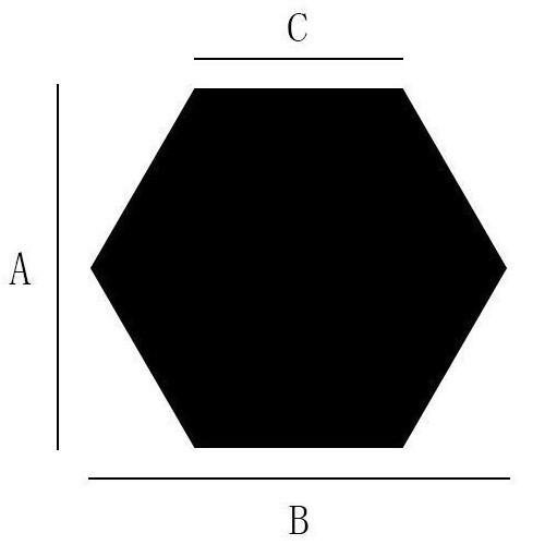 zvpa 1606kn10 【7cm×8cm×4cm】六角形 ミラー ハニカム ウォールステッカー ヘキサゴン 貼る 鏡 アクリルミラー 割れない 軽量 12枚入