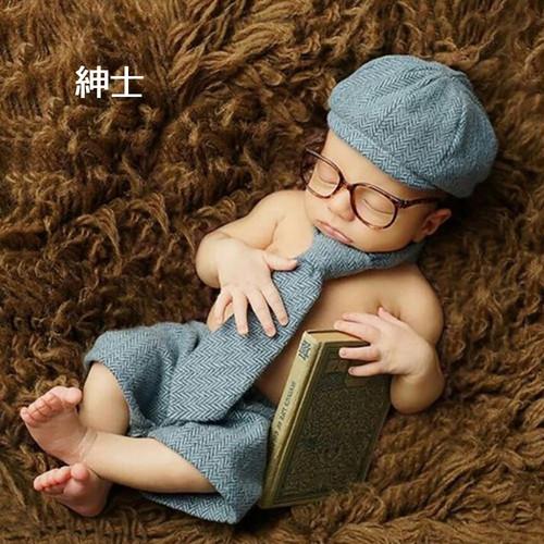 zgyx 036 【紳士】ハロウィンベビー用 赤ちゃん 衣装 仮装 コスチューム 変装グッズ 子供 出産祝い 新生児 お誕生日 撮影
