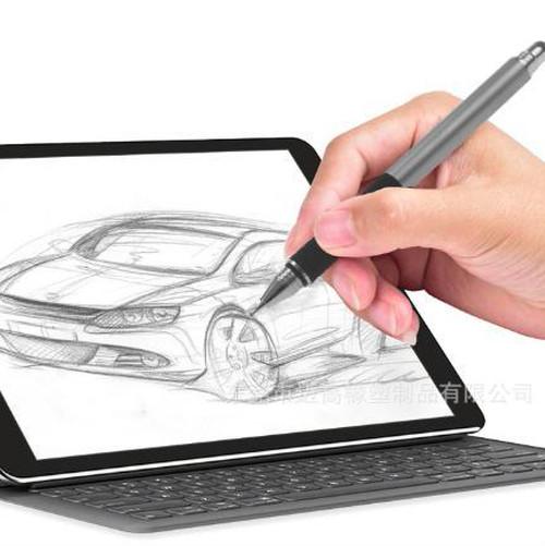 zvpa 018kn05 (ブラック) タッチペン 絵画ペン タブレット スタイラスペン スマ-トフォン iPhone 導電性布ヘッド+吸引カップ