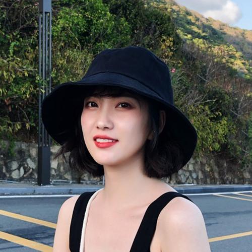 zvpa 1648upk1 【ブラック】ハット 帽子 UVカット つば広 小顔効果 紫外線対策 レディース メンズ