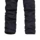 zaqa 341tk1k 【ブラック/サイズ31】カーゴパンツ ビンテージ メンズ コットン 作業ズボン ワークパンツ ゆったり 多機能 ロングパンツ 綿 無地