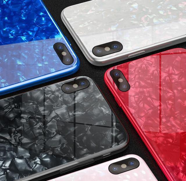 zvpa 1745kn05 (ピンクiphone12/12pro) iphoneケース ガラスシェル キラキラ 高級感 宝石 ツヤ