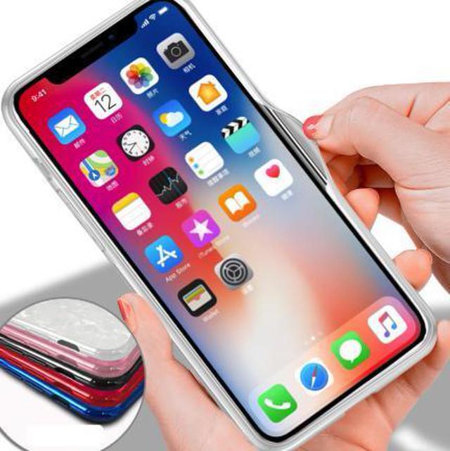zvpa 1746kn05 (ブラック iPhone12/12pro) iphoneケース ガラスシェル キラキラ 高級感 宝石 ツヤ