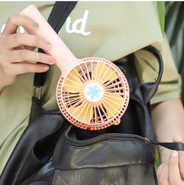yhza 118tk25 ホワイト 新型扇風 ミニ ハンディ usb 充電 卓上 熱中症対策 ミニファン 手持ち携帯機 1200mAh 超長持続時間 ハンディ 小型 卓上置き両用 スタント付 熱中症対策 風量3段階