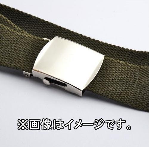yaoa 013upk3 ガチャベルト GIベルト カーキ 125cm 綿100% トレンド シンプル カジュアル ストリート系 メンズ レディース