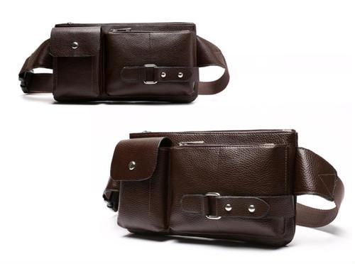 spab 859upk3 ボディバッグ ボディーバッグ ショルダーバッグ レザー 茶 小物 鞄 ポケット