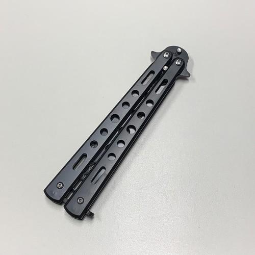 gyab 125upk1 バタフライナイフ ブラック 練習用 刃なし