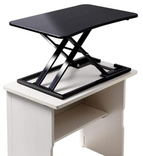 yfka 048yp16 健幸LAB】スタンディングデスク 昇降式 テーブル ガス圧 組み立て不要 テレワークに最適