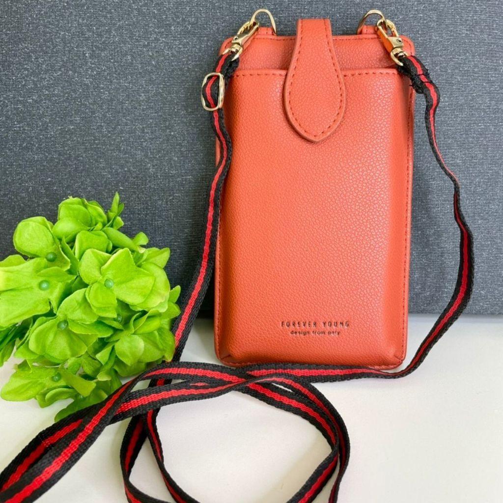 ymda 042upk3 スマホバッグ オレンジ スマホケース スマホポーチ 手帳型 ケース iPhone スマートフォン カード入れ