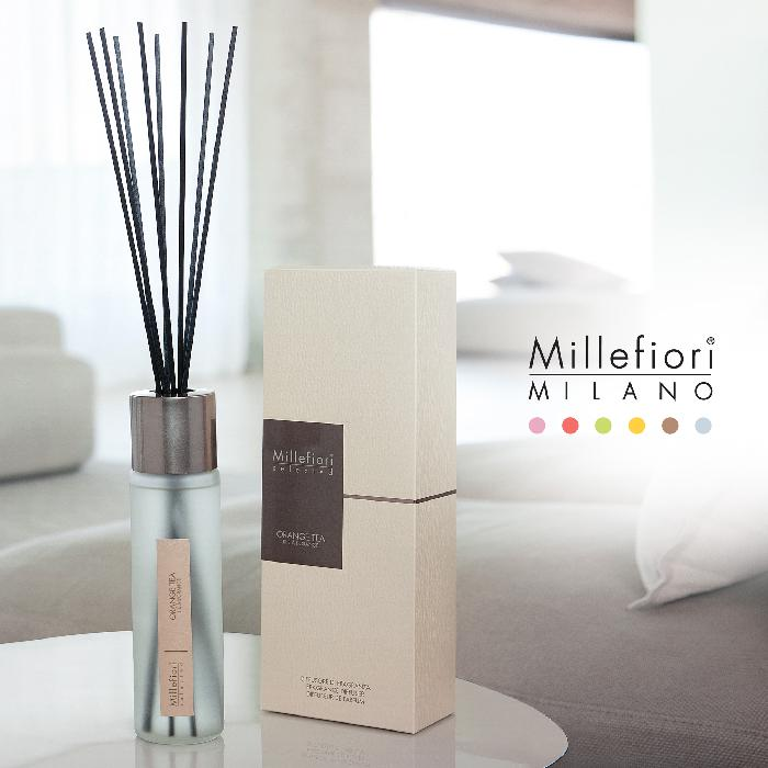 リードディフューザー100ml オレンジティー SELECTED ミッレフィオーリ Millefiori アロマディフューザー 公式通販サイト