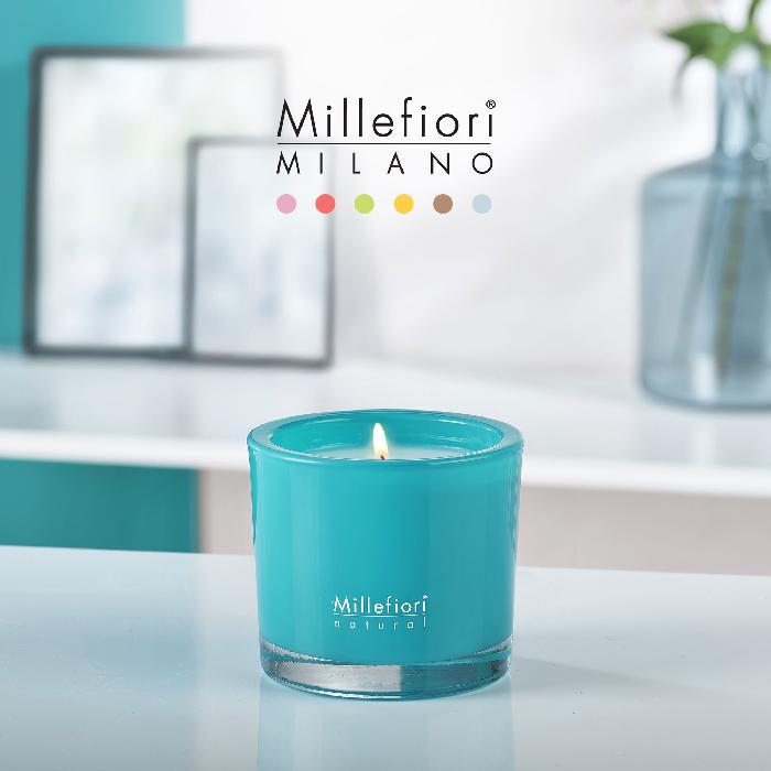キャンドル180g ベルガモット NATURAL ミッレフィオーリ Millefiori アロマディフューザー 公式通販サイト