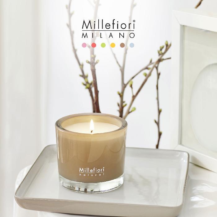 キャンドル180g ホワイトミント NATURAL ミッレフィオーリ Millefiori アロマディフューザー 公式通販サイト