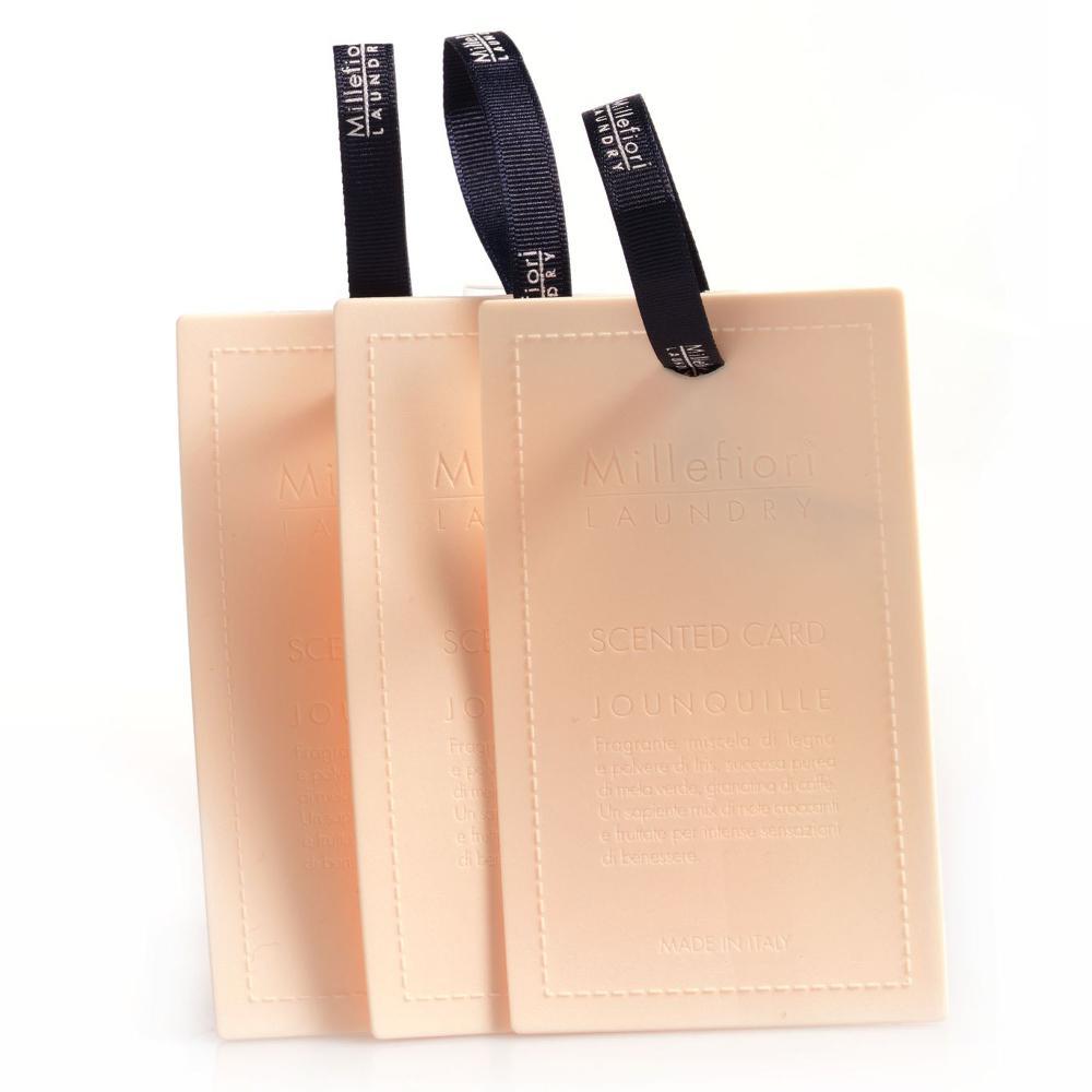 [メール便可] センテッドカード 3枚入り ナルシス LAUNDRY ミッレフィオーリ ギフト アロマ 衣類 ファブリック 公式通販サイト