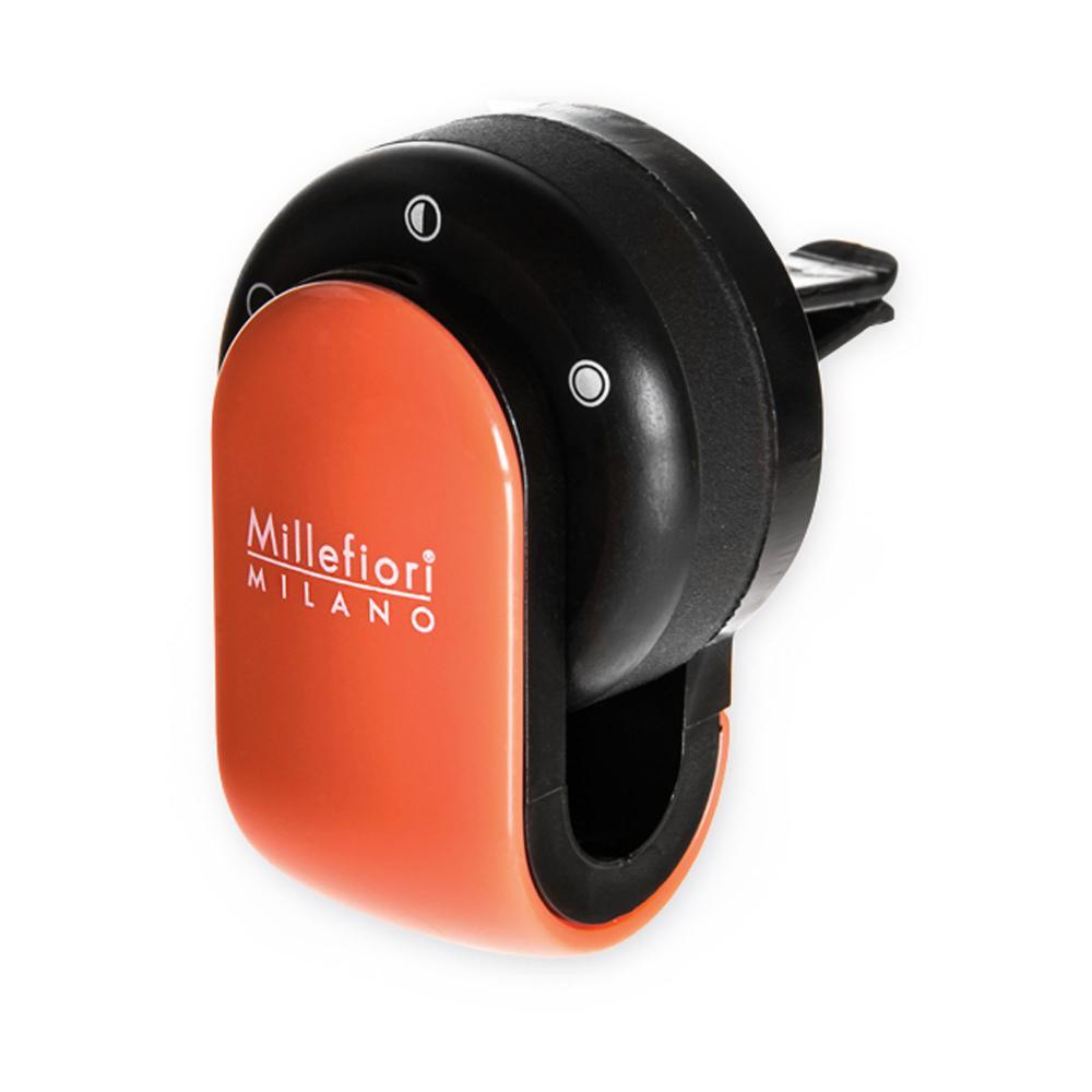 カーディフューザー GO オレンジ カーエアフレッシュナー ミッレフィオーリ Millefiori アロマディフューザー 公式通販サイト