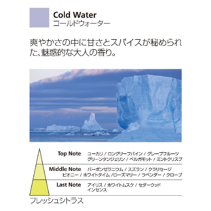 水溶性アロマオイル 15ml コールドウォーター NATURAL ミッレフィオーリ Millefiori アロマディフューザー 公式通販サイト