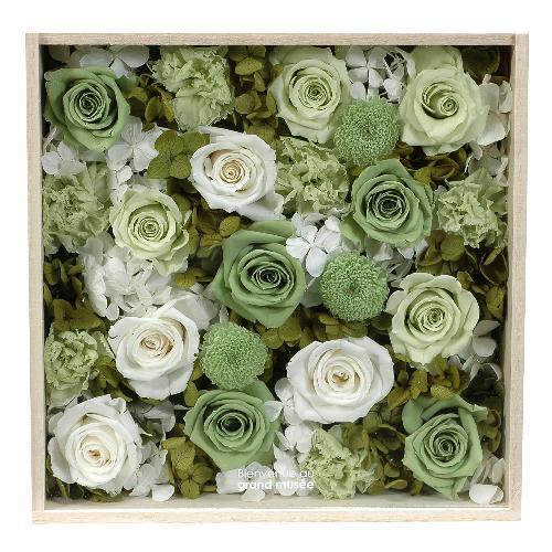 プリザーブドフラワー グリーン WOOD(LL) プレゼント 仏花 公式通販サイト