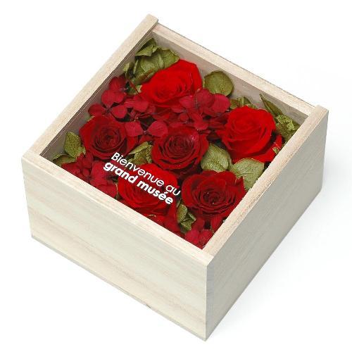 プリザーブドフラワー レッド WOOD(S) プレゼント 記念日 公式通販サイト