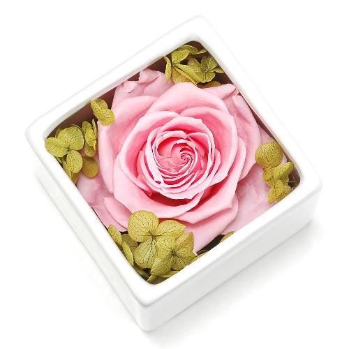 プリザーブドフラワー ピンク CUBE プレゼント 記念日 公式通販サイト