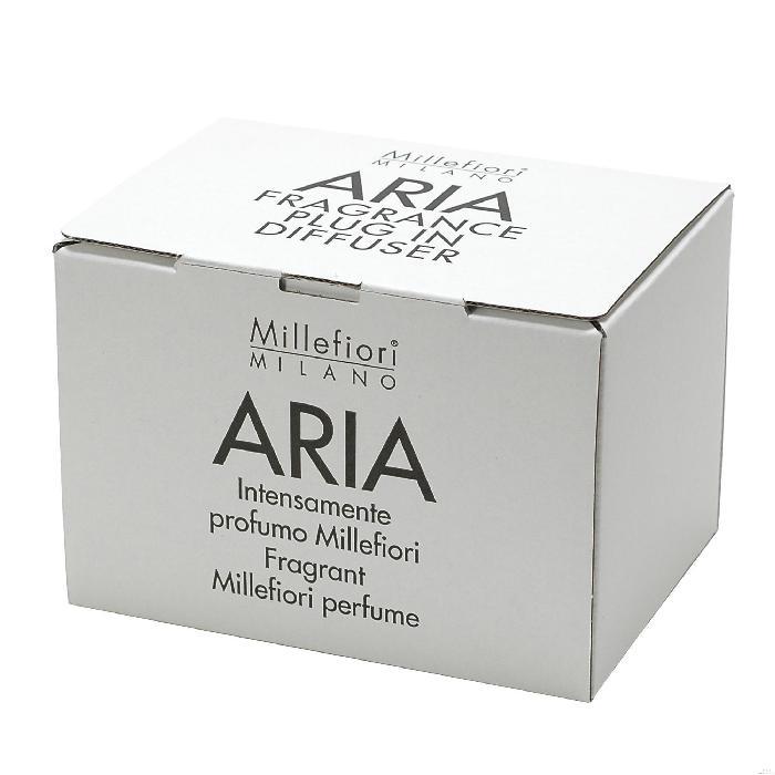 プラグインディフューザーSET ホワイトムスク ARIA ルームフレグランス ミッレフィオーリ Millefiori アロマディフューザー 公式通販サイト