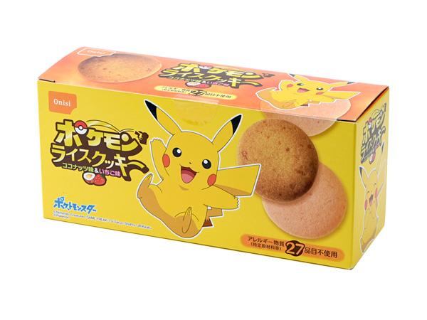 ポケモンライスクッキー アソート(ココナッツ味・いちご味)